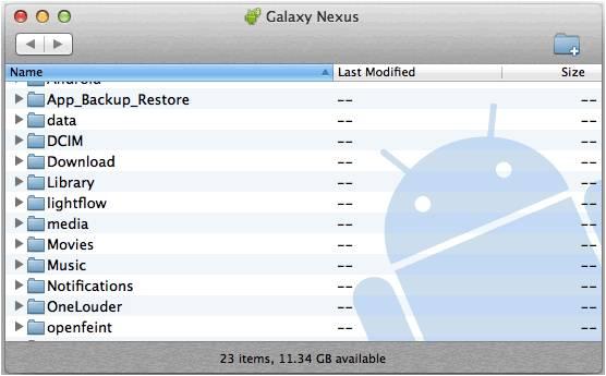 trasferimento file da Android a Mac come effettuarlo