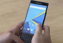 BlackBerry Priv ufficiale