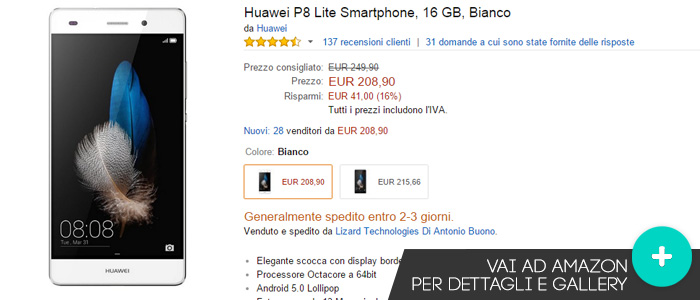 Huawei-P8-Lite-offerte-amazon-09102015