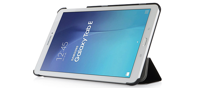 custodia con tastiera per tablet galaxy tab e 10