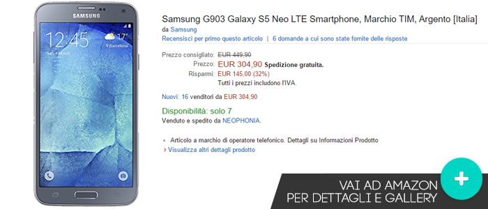 Offerte-Samsung-Galaxy-S5-Neo-Amazon-22102015