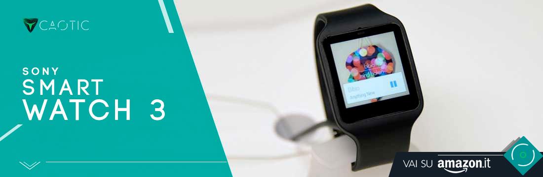 Migliori smartwatch: Sony SmartWatch 3