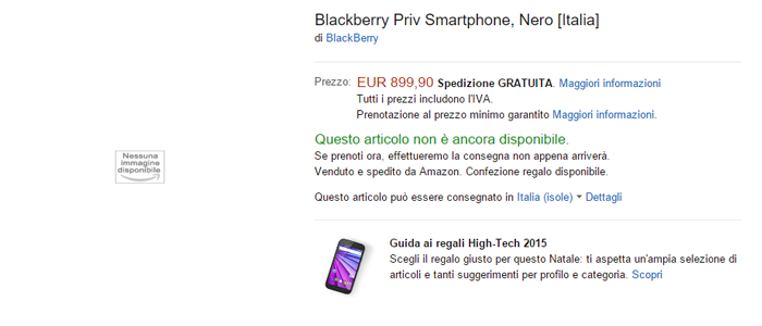 BlackBerry-Priv-disponibile-Amazon-Italia