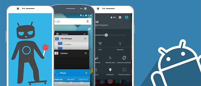 CyanogenMod: tutti gli smartphone compatibili e link download
