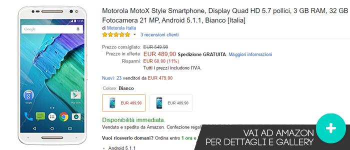 Offerte-Amazon-Motorola-Moto-X-Style-24112015