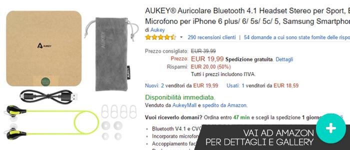 Offerte-Aukey-auricolare-bluetooth-Amazon-novembre2015