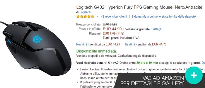 Offerte-Logitech-G402-Hyperion-Fury-Amazon-gaming-weeks