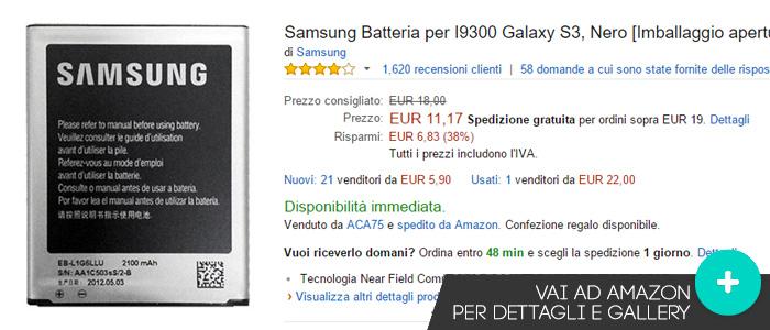 Offerte-Samsung-Galaxy-S3-S3Neo-batteria-Amazon-novembre2015
