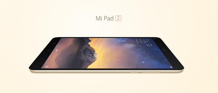 Xiaomi Mi Pad 2 ufficiale