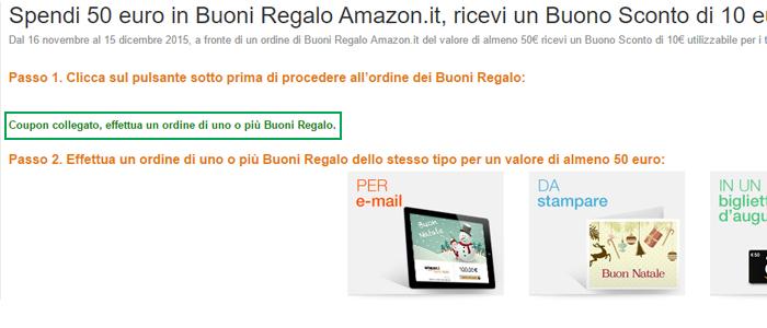 Come ottenere buoni amazon gratis for Buoni regalo amazon gratis