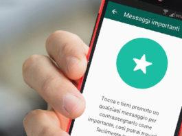Messaggi importanti WhatsApp