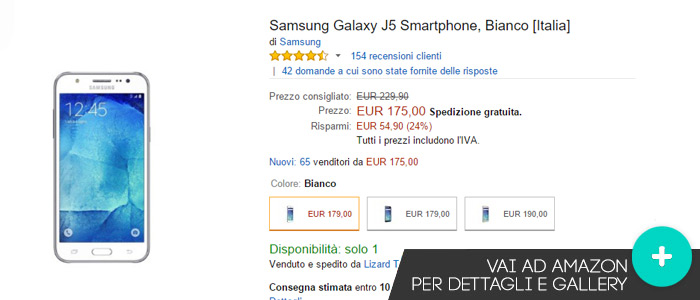 Offerte-Amazon-Samsung-Galaxy-J5