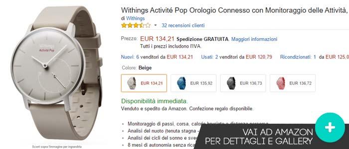 Offerte e prezzo Withing Activitè Pop su Amazon.