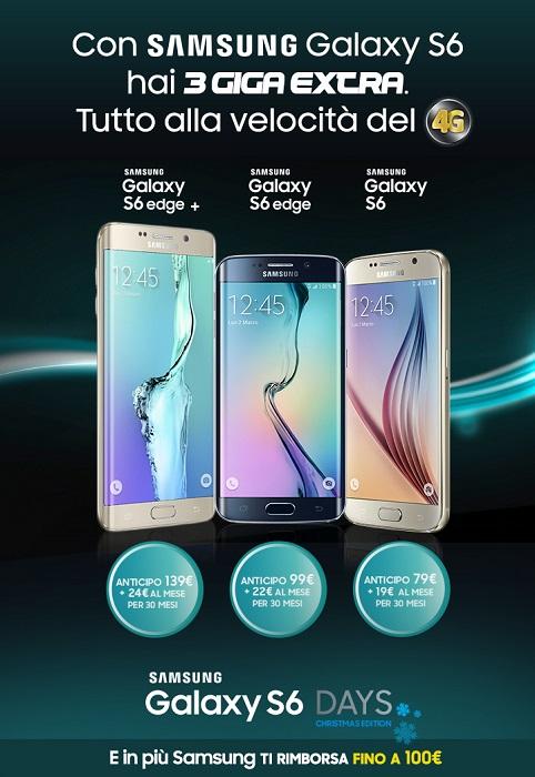 Samsung-Galaxy-S6-Days-Christmas-Edition-acquista uno-degli-smartphone-con-Tre-e-Postemobile-1