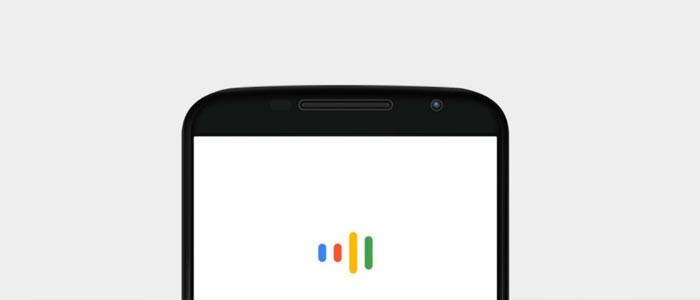 Search di Google Now in fase di ascolto