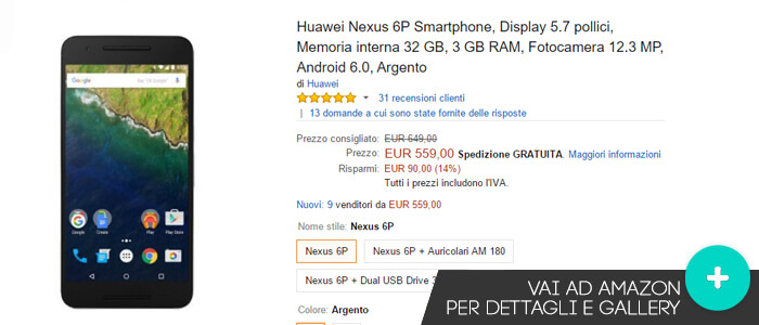 huawei-nexus-6p-Offerte-Amazon