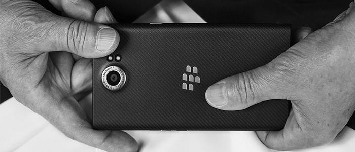 BlackBerry Priv con Wind