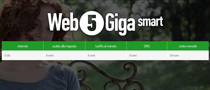 CoopVoce Web 5 Giga Smart