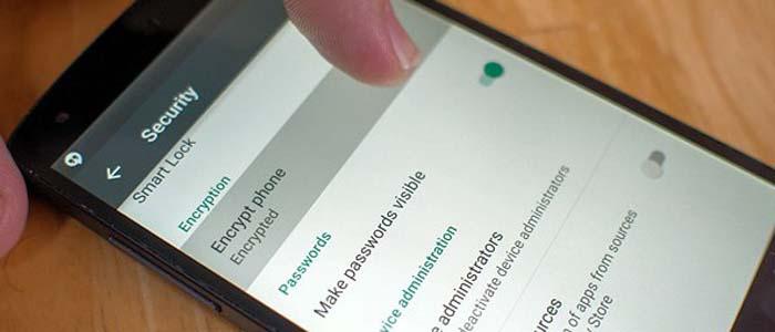 Android Marshmallow e la crittografia.