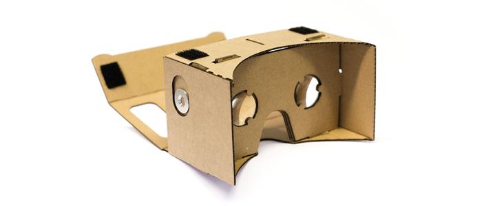 Google sensore realtà virtuale