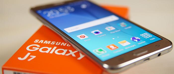 Samsung Galaxy J7 (2016) benchmark