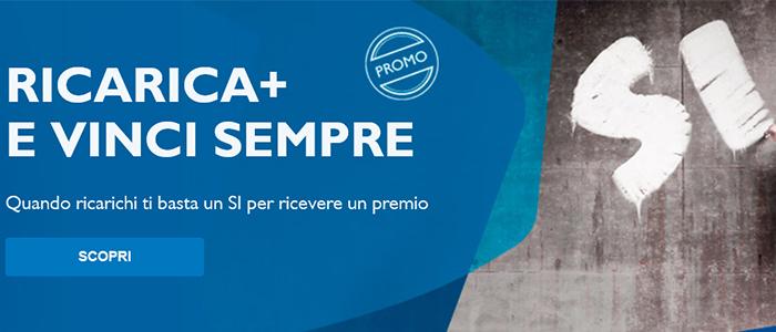 Tim Ricarica+ e Vinci sempre
