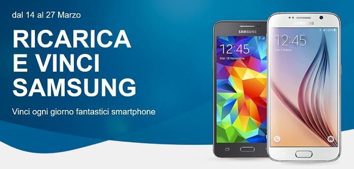 Ricarica e vinci Samsung