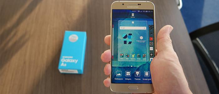Samsung Galaxy A9 Pro su AnTutu