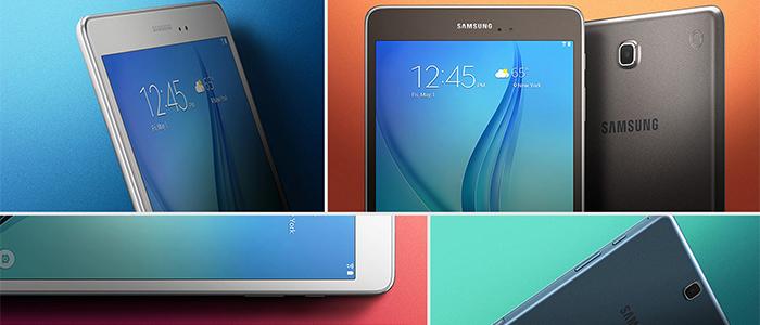 Samsung Galaxy Tab A aggiornamento