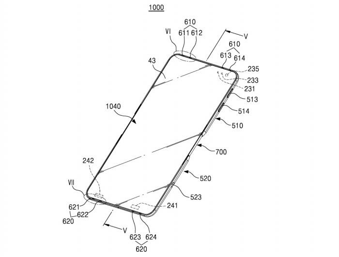 Brevetto Samsung per smartphone pieghevole