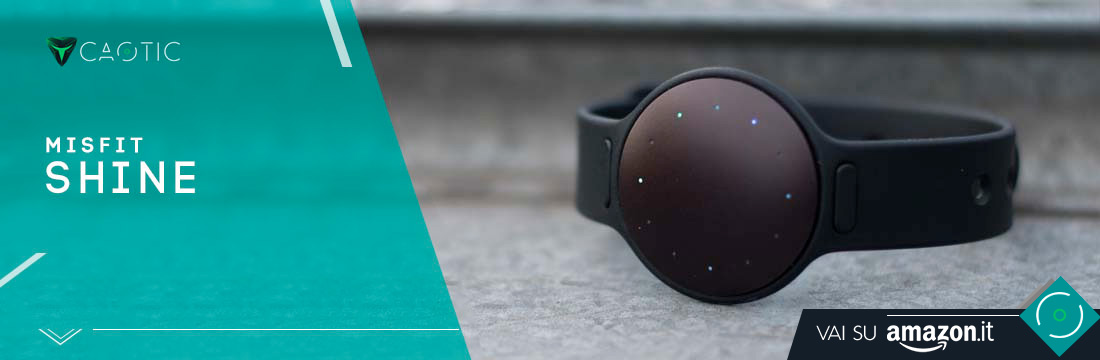 Misfit Shine come miglior fitness tracker