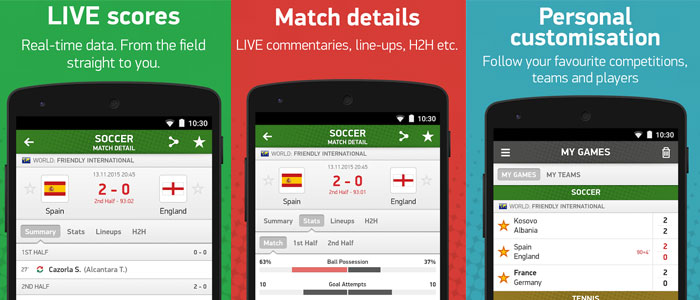 app livescore android