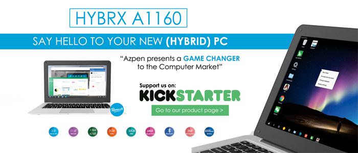 Azpen Hybrx A1160