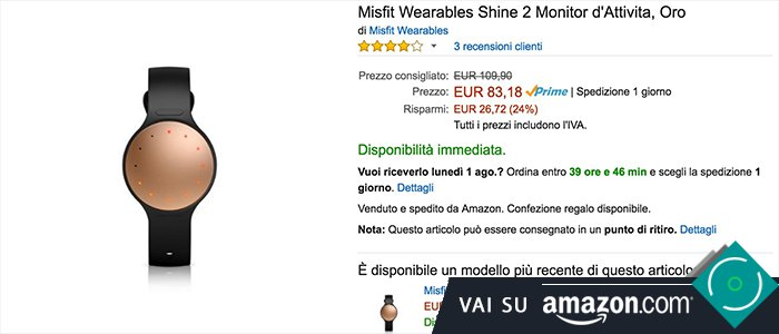 Misfit Shine 2 - Acquista Amazon.it