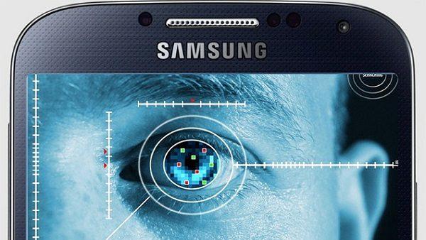 Samsung Galaxy S8 scanner oculare
