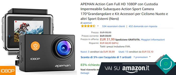 Action cam APEMAN