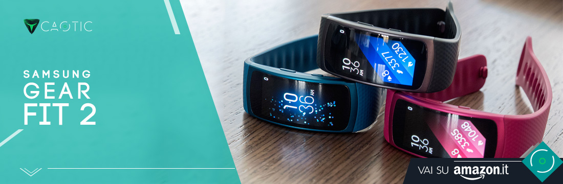 Samsung Gear Fit 2 come Miglior fitness tracker