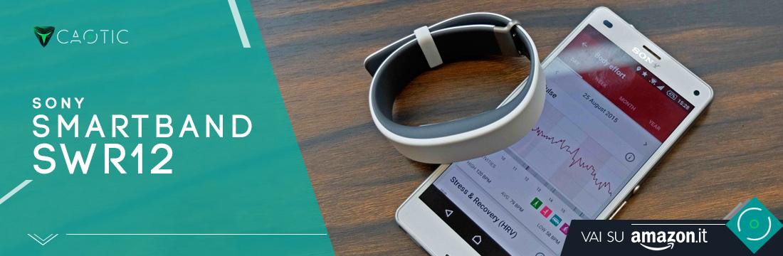 Sony Smartband SWR12 come Miglior fitness tracker