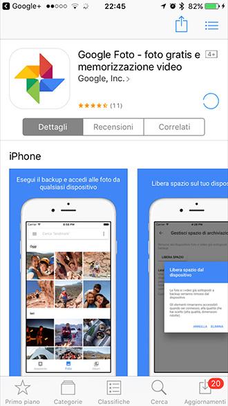 trasferire foto da iPhone ad Android