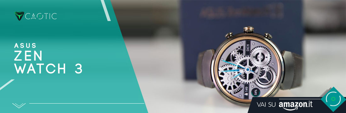 Migliori smartwatch: Asus Zen Watch 3