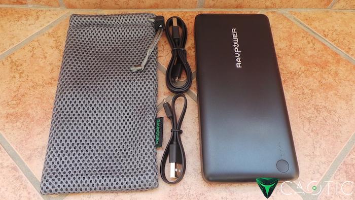 RAVPower - Batteria esterna da 20100 mAh