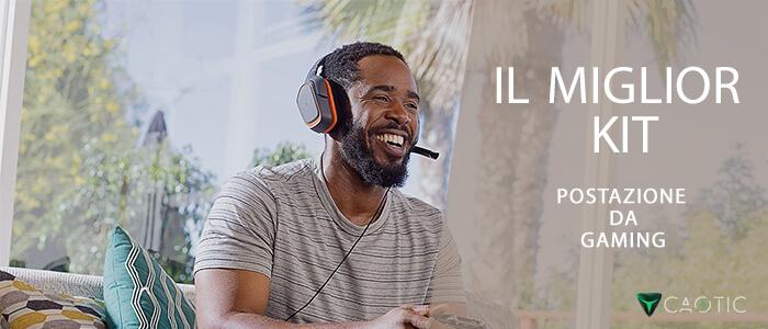 Amazon miglior kit postazione da gaming