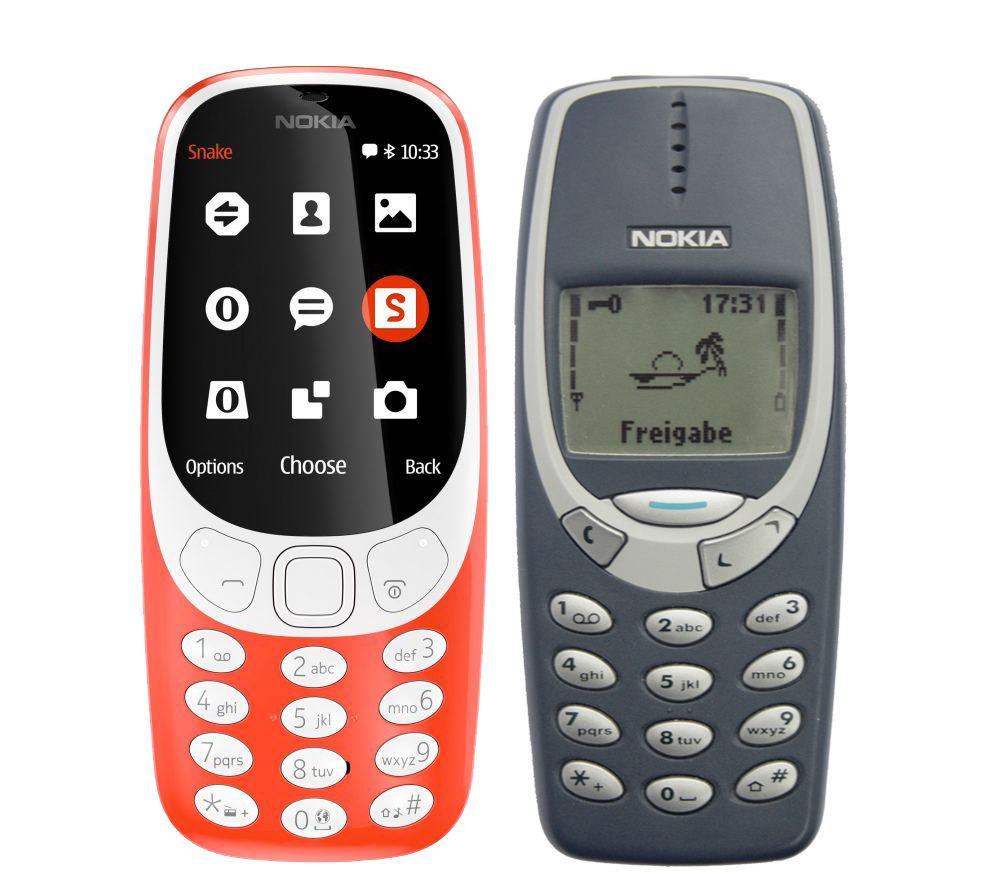 differenze nokia 3310