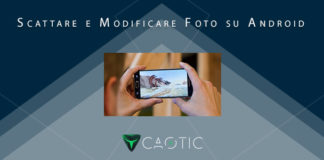 Scattare modificare foto Android