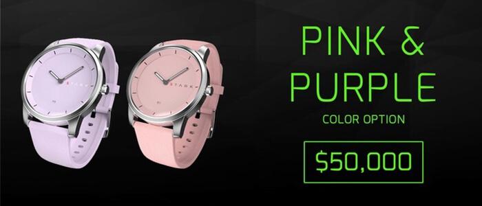 Stark smartwatch ibrido Kickstarter