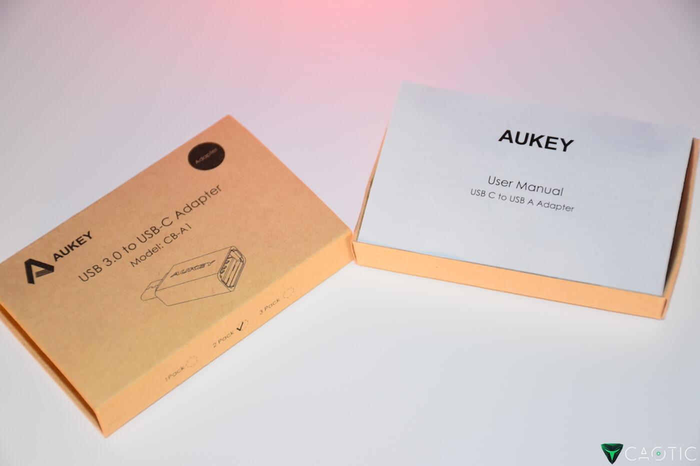 Adattatori Aukey