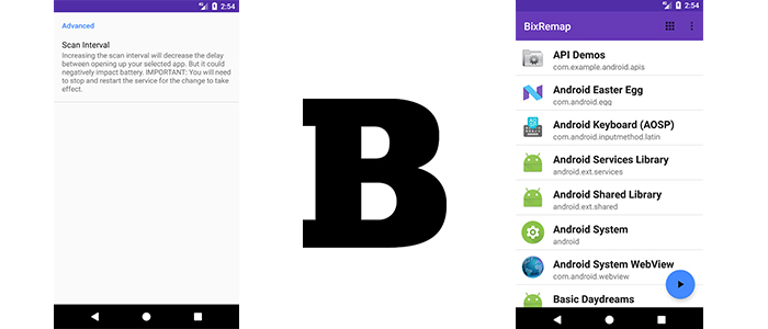 BixRemap Bixby Samsung Galaxy S8