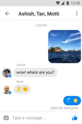 Facebook Messenger Lite Italia