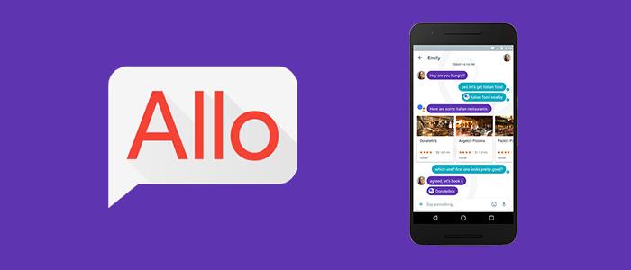 Google Allo app desktop
