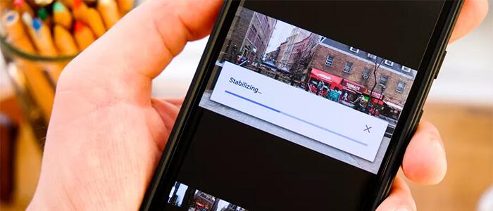 Google Foto stabilizzazione